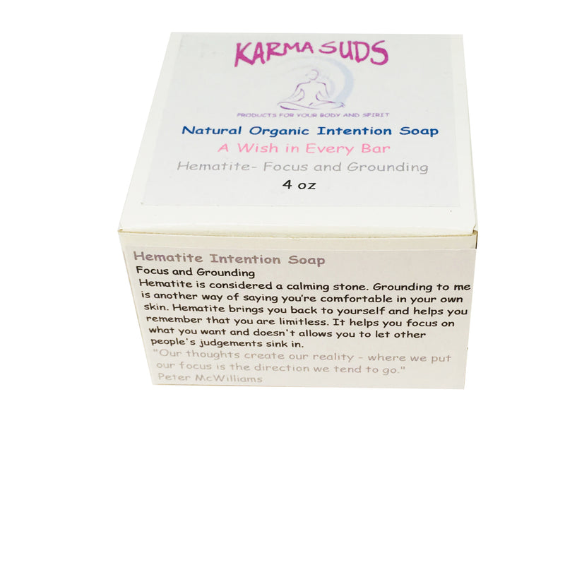 Hematite Intention Soap - 4 oz,Soap - Karma Suds
