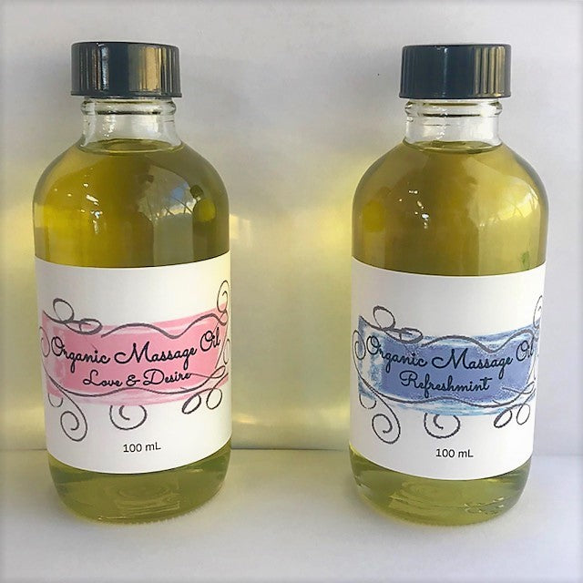 Organic Massage Oil 100 mL,Skincare - Karma Suds