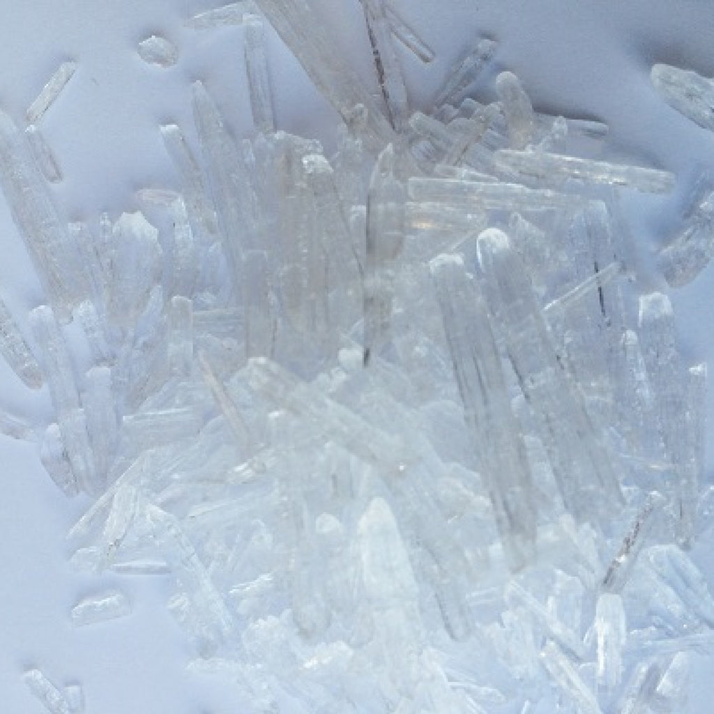 Menthol Crystals,Skincare Ingredients - Karma Suds