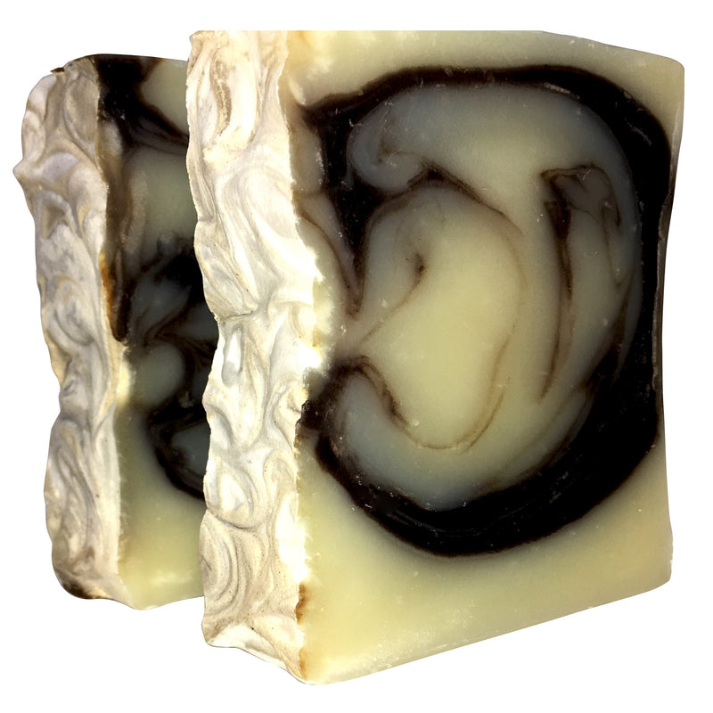 Chocolate Mint Frenzy - Natural Organic Bar Soap - over 4 oz,Soap - Karma Suds