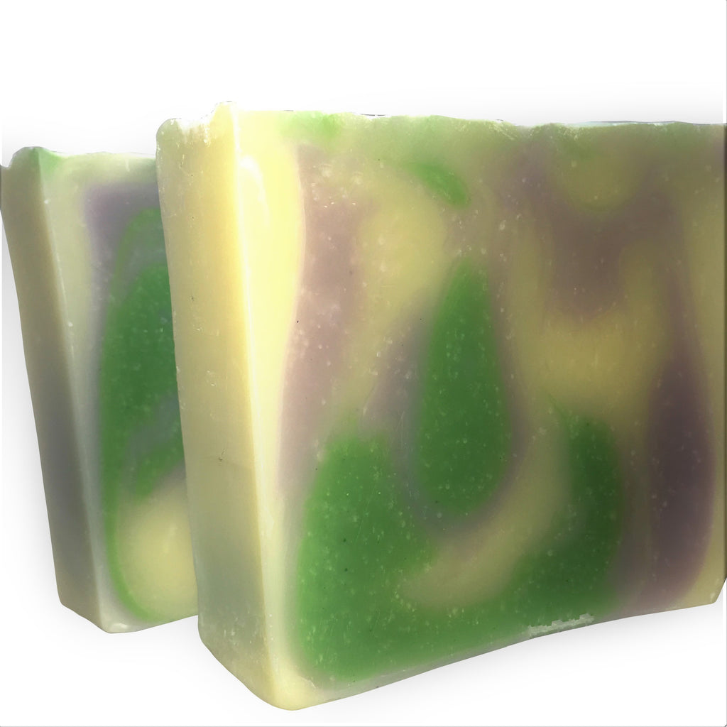 Lavender Lime Lust - Natural Organic Bar Soap - 4 oz,Soap - Karma Suds