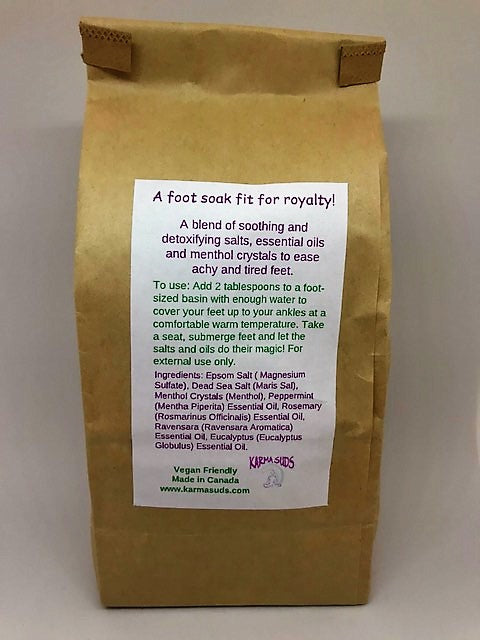 Treat Yo' Feet - Reviving Foot Soak - 500 g,Bath Products - Karma Suds