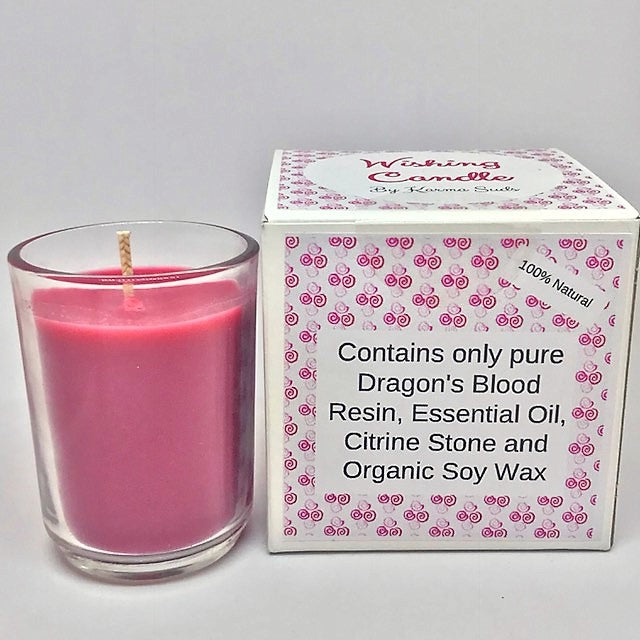 Wishing Candle - 50 g,Reiki Infused - Karma Suds