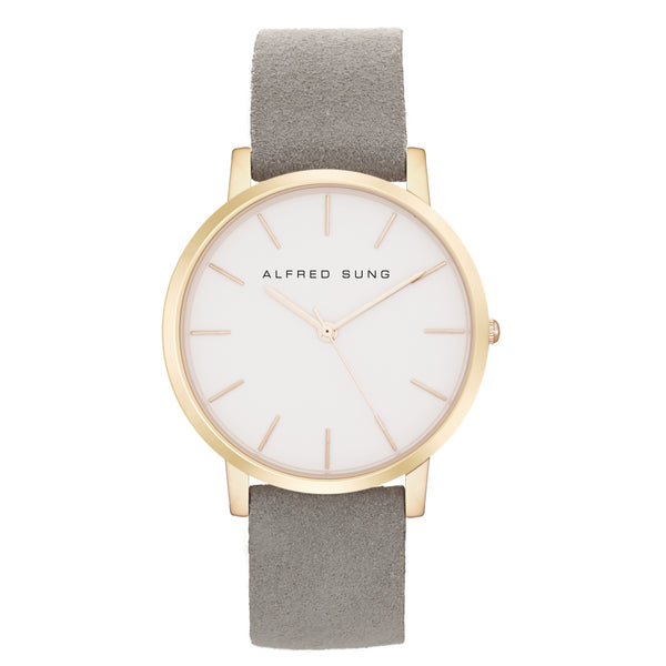 Alfred Sung Ultra Slim Ladies Wristwatch