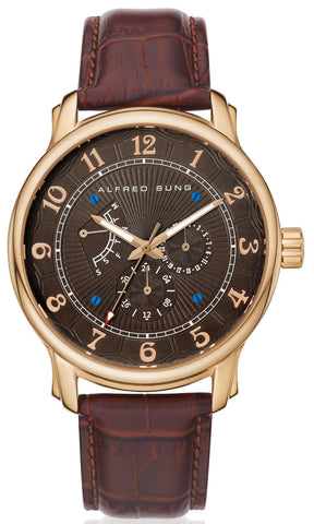 Riviera AS3003RL-5A Men's Analog Wrist Watch