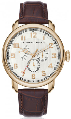 Riviera Gent's Analog Wrist Watch