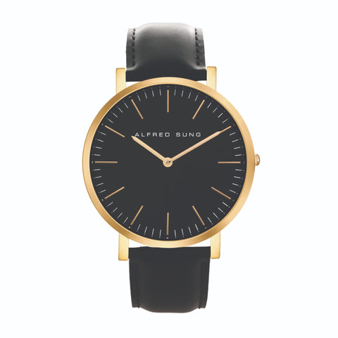 Alfred Sung Gents Ultra Slim Wristwatch