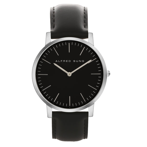 Alfred Sung Ultra Slim Gents Wristwatch