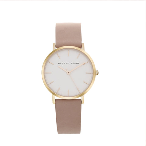 Alfred Sung Ladies Ultra Slim Wristwatch