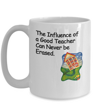 The Influence of a Good Teacher Can Never be Erased - 2