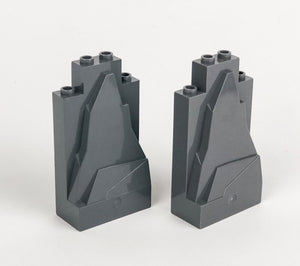 Rock/Mountain Parts Small Pack: Dark Bluish Gray