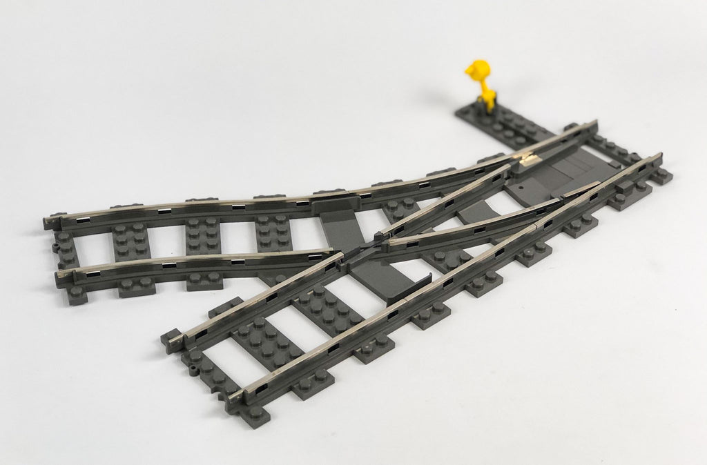 LEGO(R) 9v Train Track, Switch Point Right, Dark Gray