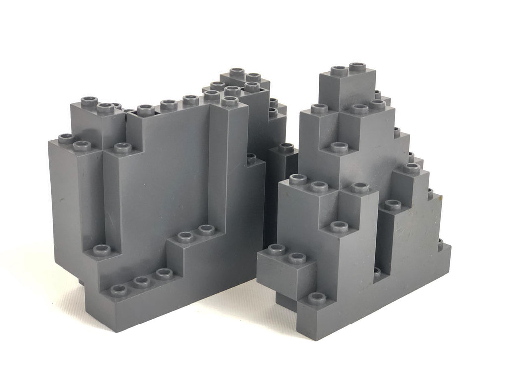 Rock/Mountain Parts Pack: Dark Bluish Gray