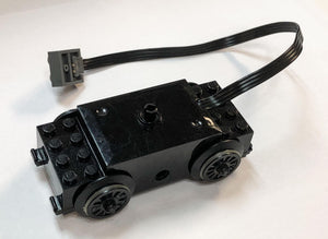 LEGO(R) Electric Train Motor RC Train with Integrated PF Attachment and Wheels
