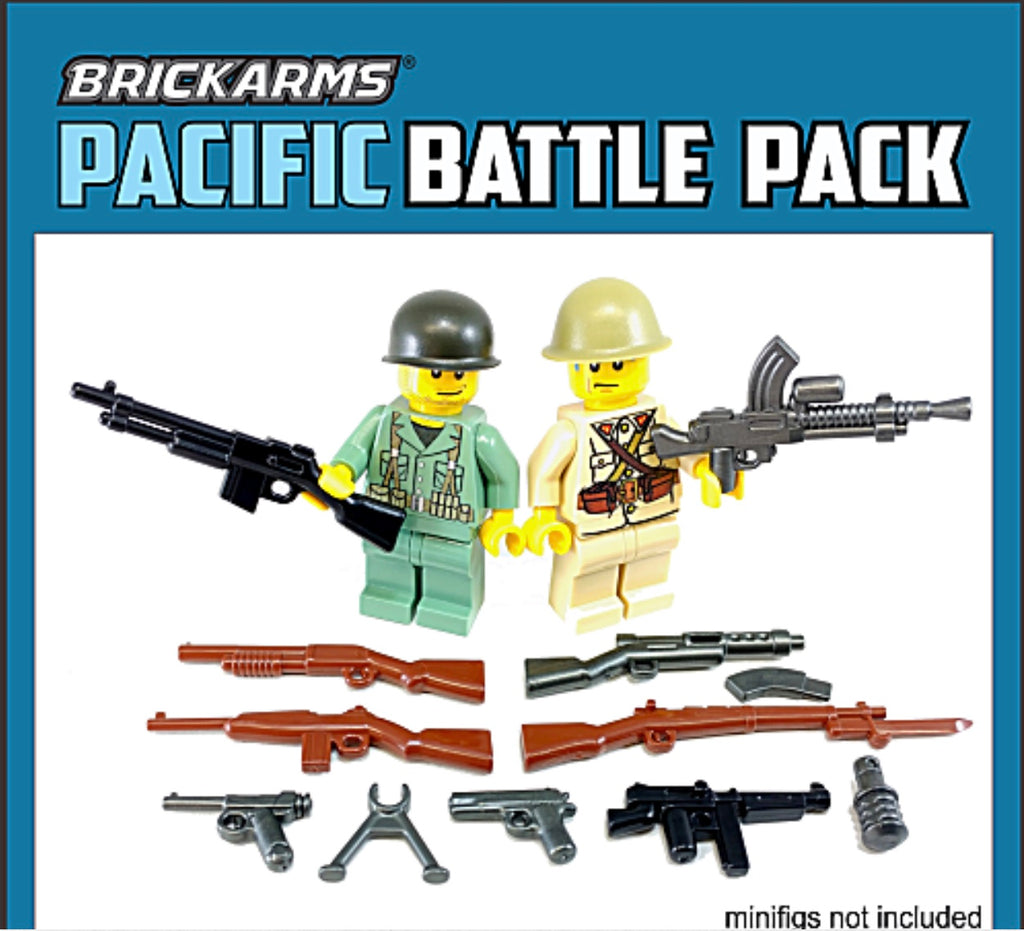 BRICKARMS WWII PACIFIC WEAPONS PACK