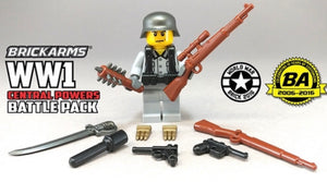 BRICKARMS WW1 CENTRAL POWERS WEAPONS PACK