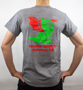 T-shirt Dragon Back, Graphite Heather (Grey)
