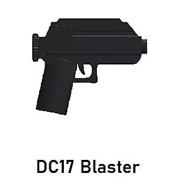 Custom Star Wars DC-17 Blaster For LEGO Minifigures.