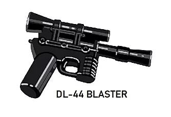 Custom Star Wars DL-44 Blaster For LEGO Minifigures.