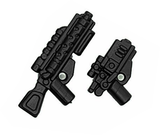 BrickArms Dark Warrior Weapons Pack 1 Rifle & Pistol