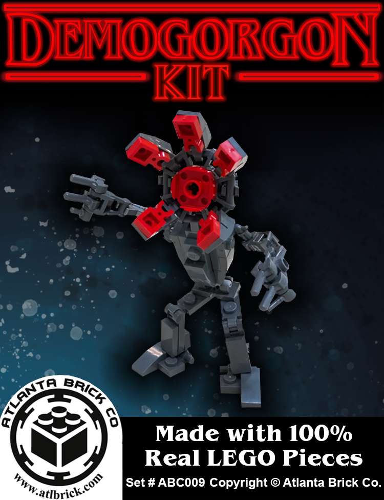 Demogorgon Building Kit made out of 100% Real Lego(R) Pieces
