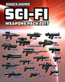 BRICKARMS SCI-FI WEAPONS PACK (2017)