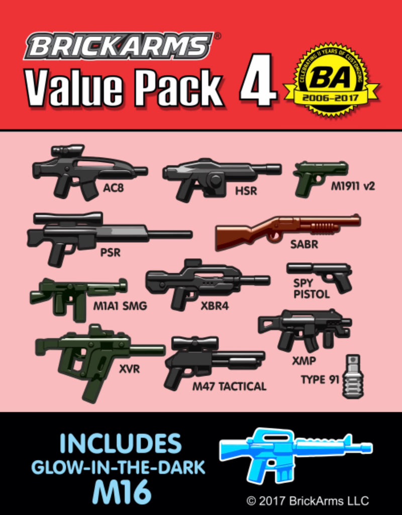 BRICKARMS VALUE PACK 4