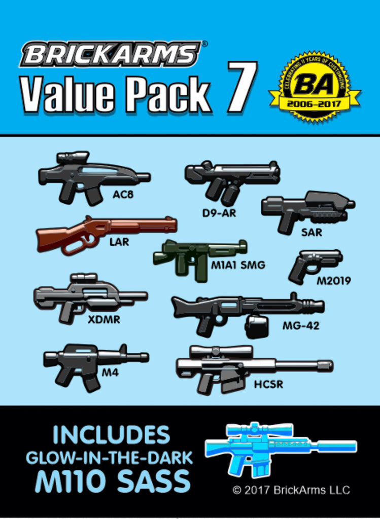 BRICKARMS VALUE PACK 7