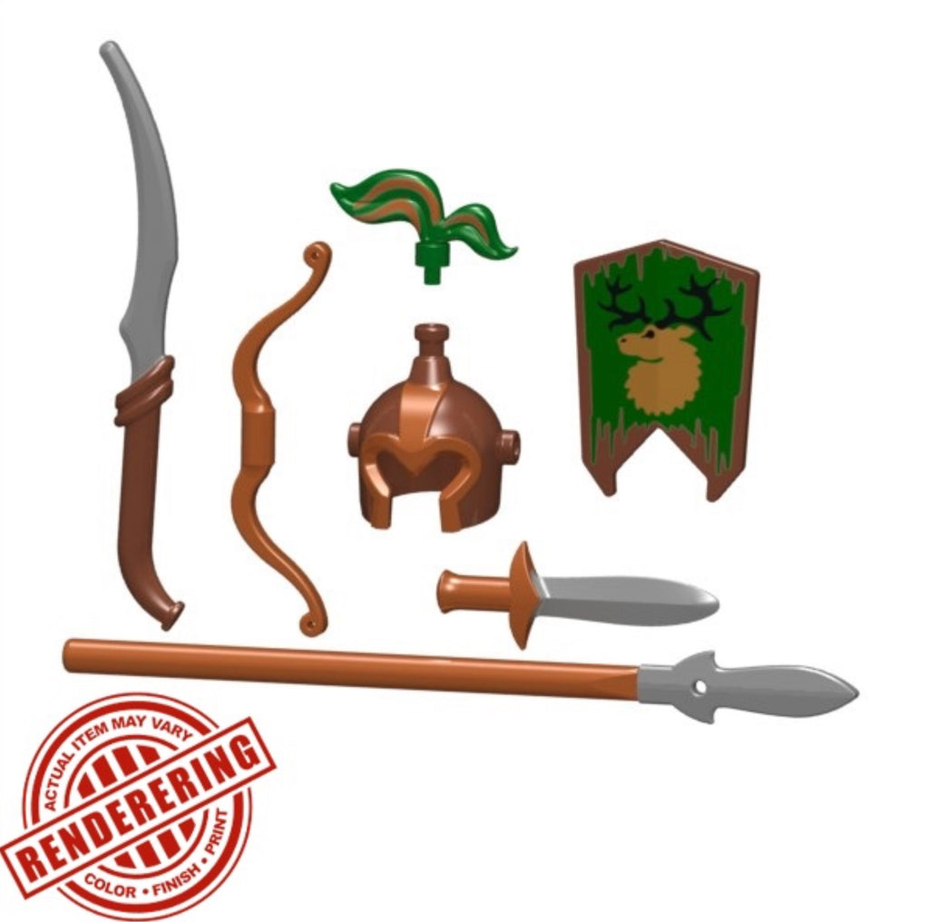 "BRICKFORGE ELVEN SENTINEL ""DARK FOREST"" PACK"