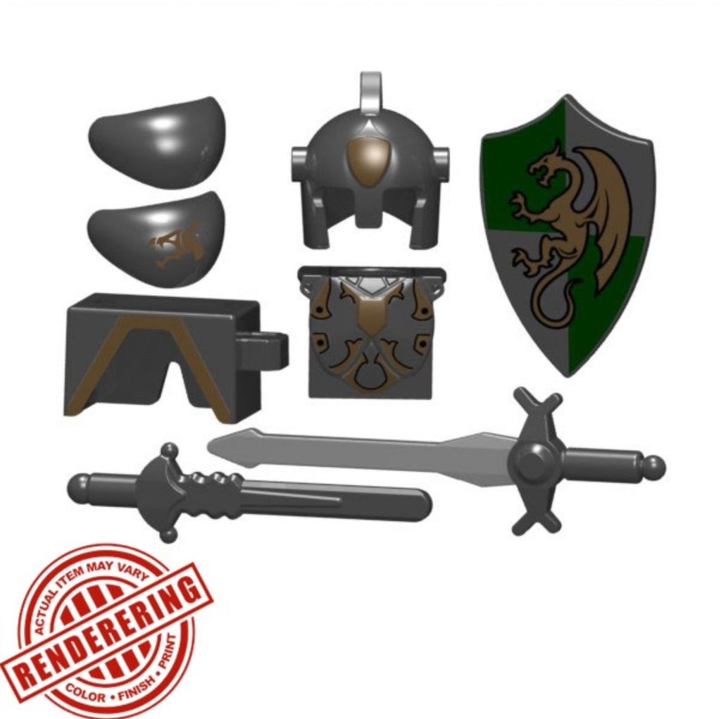 "BRICKFORGE PALADIN ""DRAGON CLAW PACK"