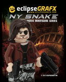 "EclipseGRAFX Custom Printed Minifigure ""NY SNAKE"""
