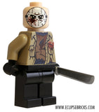 "EclipseGRAFX Custom Printed Minifigure ""Hockey Mask Hunter"""