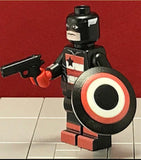 US AGENT Custom Printed & Inspired Marvel Lego Minifigure