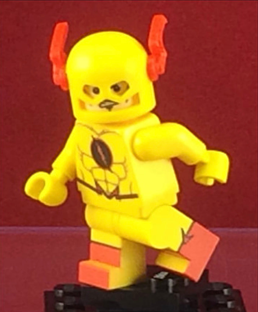 Reverse Flash DC Custom Printed Minifigure