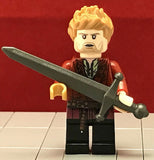JAIME LANNISTER Custom Printed & Inspired Game of Thrones Lego Minifigure