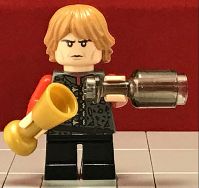 Made using LEGO /& custom parts Game of Thrones Tyrion Lannister Minifigure