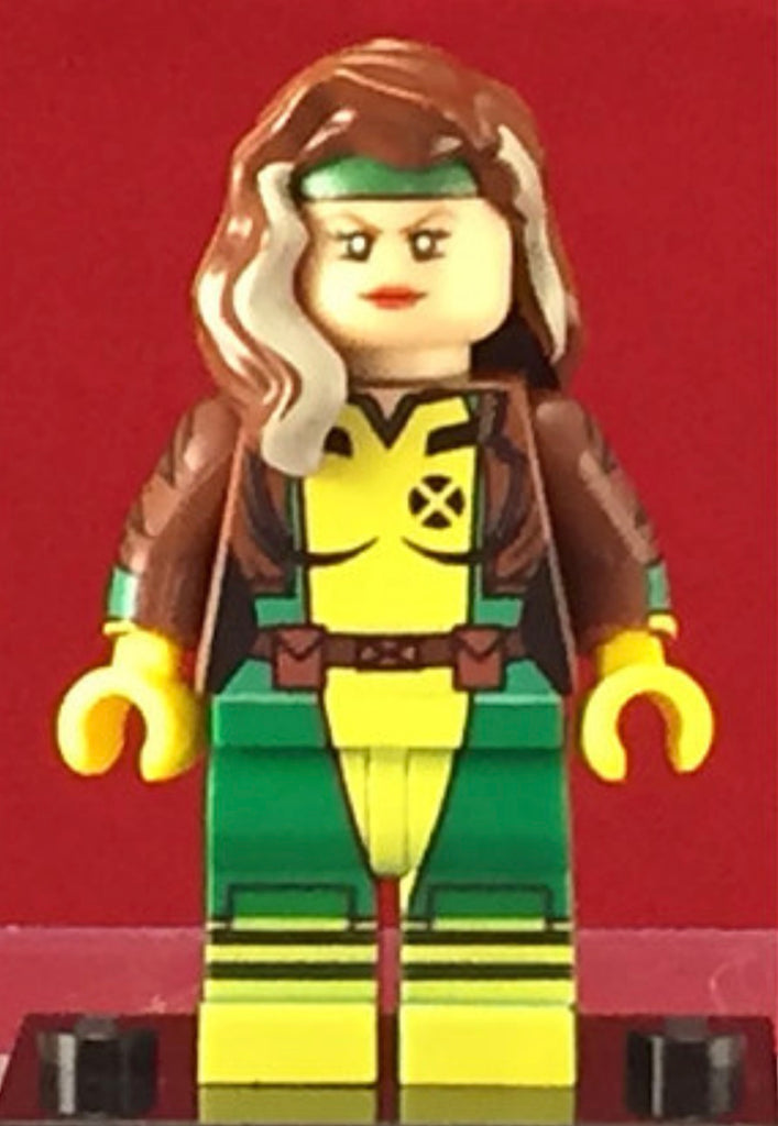 Rogue Marvel Xmen Version #2 Custom Printed Minifigure