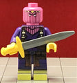 BARON ZEMO Custom Printed & Inspired Marvel Lego Minifigure