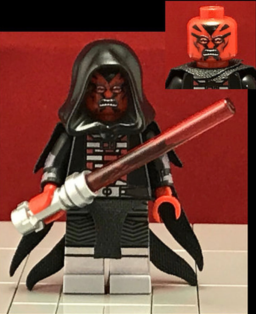 DARTH RAVAGER Custom Printed & Inspired Lego Star Wars Minifigure