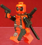 Deadpool Marvel Custom Printed Minifigure
