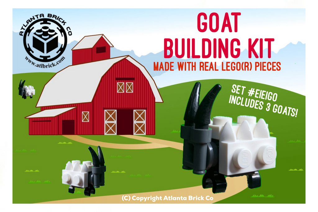 Goat Building Kit (includes 3 goats)