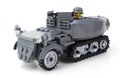 Battle Brick German Half Track Custom Set