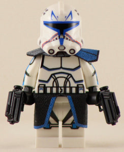 Captain Rex Phase 2 Custom Printed & Inspired Lego Star Wars Minifigure