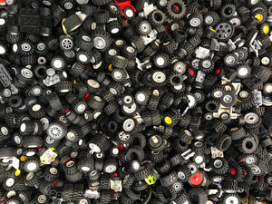 Small Sized Bulk Lego(R) Wheels & Tires