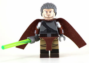 RAHM KOTA Jedi Master/General Custom Printed & Inspired Star Wars Lego Minifigure