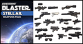 Brickarms Stellar Blaster Custom Weapons Pack