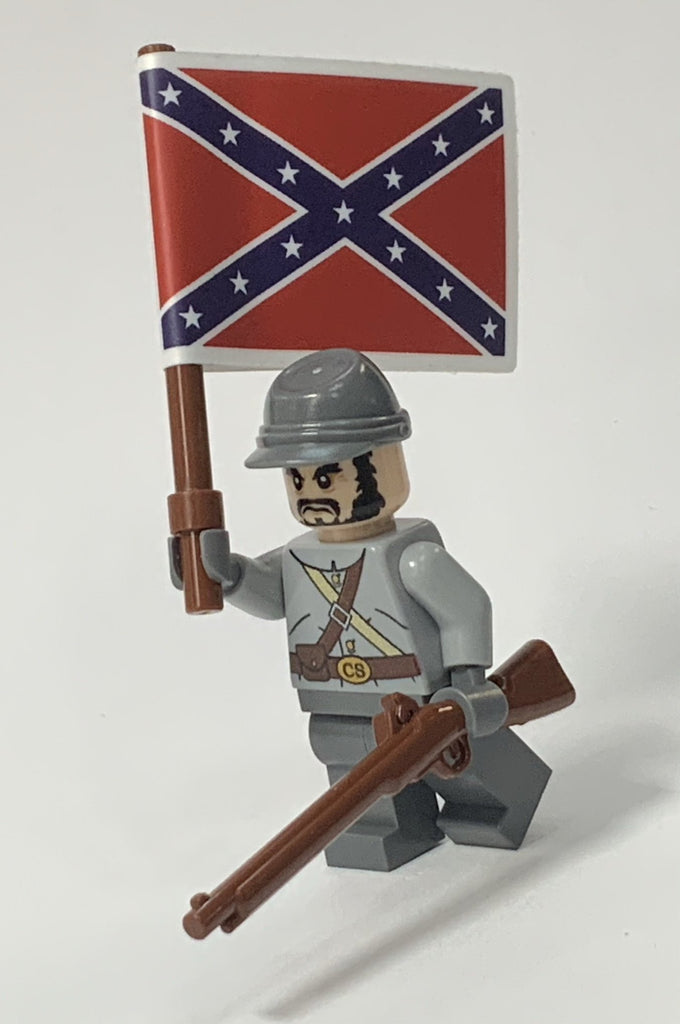 Civil War Custom Lego(R) Minifigure, Gray