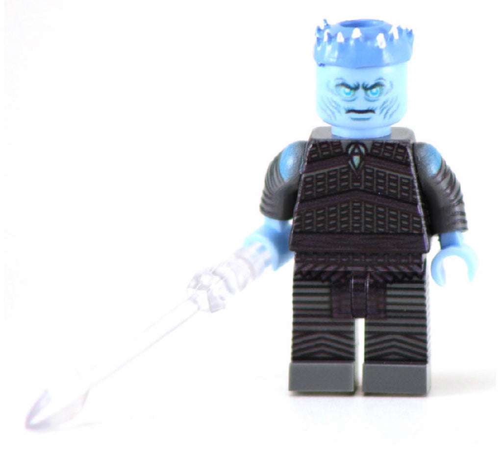NIGHT KING 1st Gen Custom Printed & Inspired Lego Game of Thrones Minifigure
