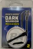 BrickArms Dark Warrior Weapons Pack 2 Mace & Knife