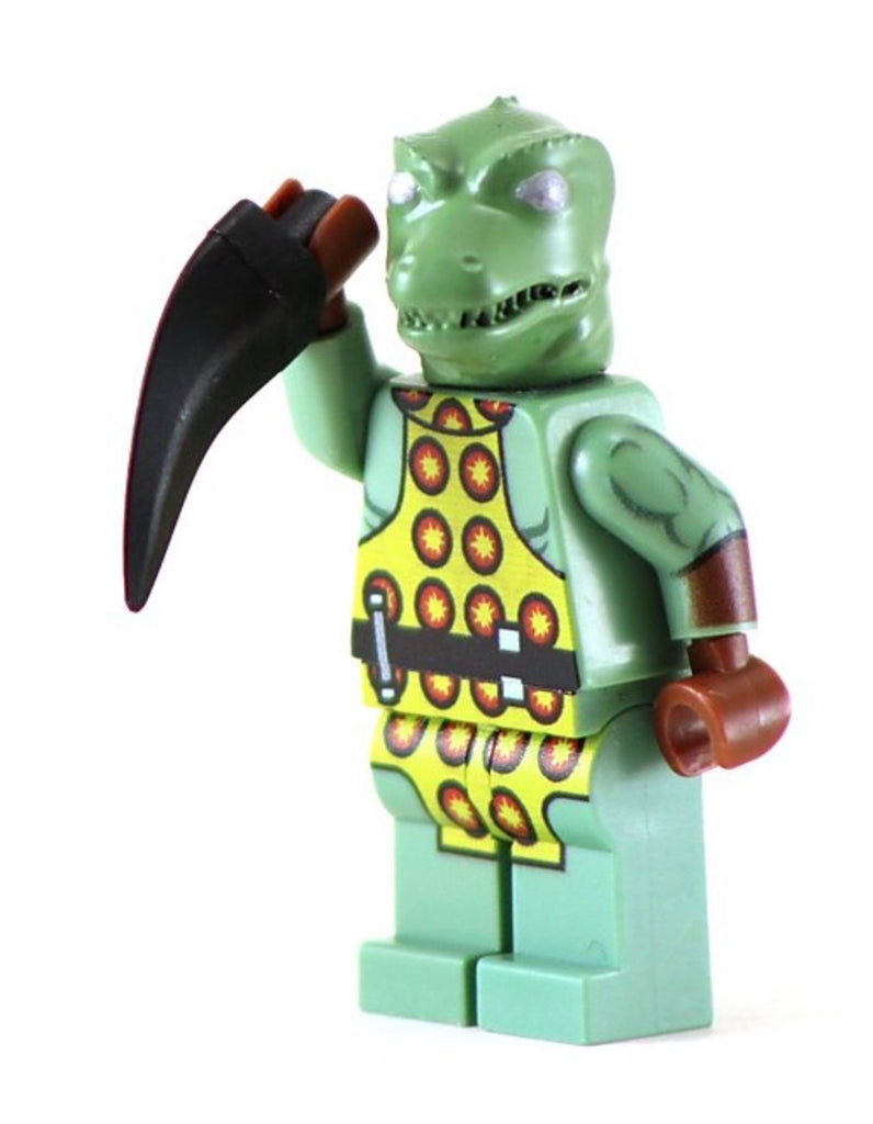 GORN Custom Printed Star Trek Lego Minfigure